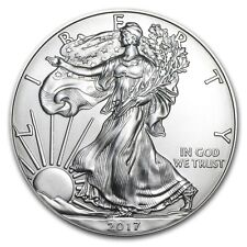 2017 1 oz Silver American Eagle - Brilliant Uncirculated Coin .999 1oz. BU