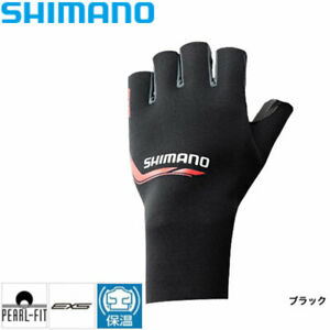SHIMANO Glove Pearl Fit EXS Glove 5 left hand M ~ LSize GL-09RN Black From JAPAN