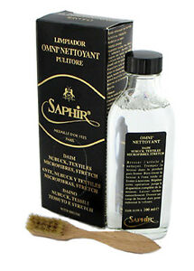 Omninettoyant  Saphir Medaille d'Or - leather cleaner for suede, nubuck & tex