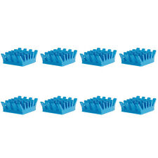 8Pcs Aluminum VGA PC Blue Heatsink Card For Xbox360 PS DDR RAM Memory Cooling