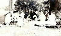 c.1910 Seymour CT Picnic Brunch Zwick Ingersoll RPPC Real Photo Postcard GL