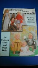 Woolworth Doll Clothing Book Knitting Pattern Book 543