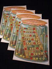 Ancien jeu Fera t-il beau demain Verre Grenouille Baromètre Style Saussine 1920