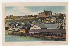 Canada, Quebec, Chateau Frontenac et Citadelle Postcard #2, B249