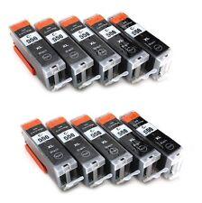 10 PGI 550  Black ink for Canon Pixma iP7250 MG5450 MG6350 MX925 MG5650 MG7150