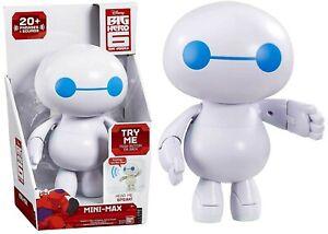 Big Hero 6 Mini Max Figure Ages 4+ New Toy Baymax Robot Play Superhero Hiro Fun