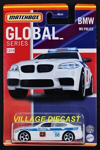 2021 Matchbox Global Series #12 BMW M5 WHITE / RUSSIA / MOC