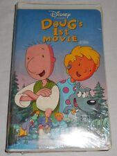 Doug's 1st Movie VHS 1999 Disney White Clamshell Kids Cartoon 90's New