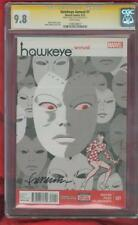 Hawkeye Annual 1 CGC SS 9.8 Pulido Madame Masque Cover Avengers Infinity War