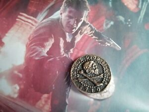 UNCHARTED Nathan Drake moneta teschio Argento 925-produzione artigiana