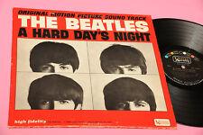 "BEATLES LP A HARD DAY'S NIGHT 1°ST ORIG USA 1964 EX MONO ERROR ""I CRY"" TOP RARE"