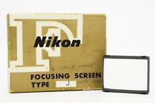 Nikon F Focusing Screen J
