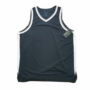 NIKE AEROSWIFT BASKETBALL HOME AWAY JERSEY BROOKLYN NETS BLACK WHITE 44 48 52 56