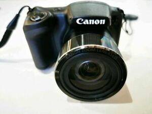Canon PowerShot SX430 IS 20.0 MP Digital Camera - Black #229891