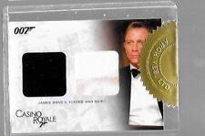 Daniel Craig James Bond double relic blood stain card  DC1