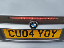 BMW 3 SERIES E46 CONVERTIBLE BOOTLID 3RD BRAKE LIGHT CLEAR LED M3 330 318 Trunk