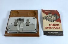 Vintage Craig 8mm-16mm Junior Film Splicer