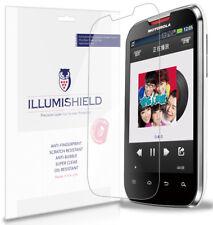 iLLumiShield Anti-Bubble Screen Protector 3x for Motorola Motosmart Mix XT550