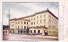 PORTLAND OREGON CITY HALL~D M AVERILL & CO PUBLISHER POSTCARD 1906