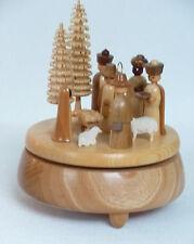 Spieldose Spieluhr Krippe Original Handwerkskunst aus dem Erzgebirge