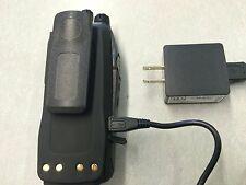 MOTOROLA XTS2500 1500 Lion 2500mAh BATTERY VEHICLE AC,DC,& USB CHARGER RLN4884