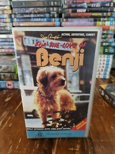 For the love of Benji rare classic cult VHS Video
