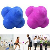 Hexagonal Fitness Agility Coordination Reflex Workout Training Response Ball