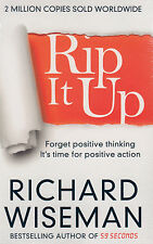 Rip it Up BRAND NEW BOOK by Richard Wiseman (Paperback 2015)