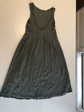 Metalicus Green Dress. Layering Top Tunic. Great Cond. Fits Small, 8-10.