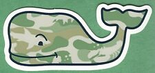 NEW AUTHENTIC VINEYARD VINES CAMOUFLAGE WHALE STICKER DECAL