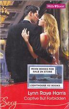 CAPTIVE BUT FORBIDDEN LYNN RAYE HARRIS 2011 SEXY MILLS & BOON ROMANCE
