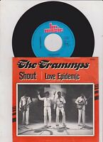 7inch THE TRAMMPS shout / love epidemic HOLLAND EX +PS