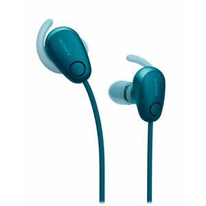 NEW Sony WI-SP600N Wireless Noise Canceling Sports Headphone WISP600N Blue