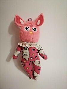 Furby ooak handmade plush oddbody pink