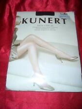 KUNERT Satin Look Glanz Feinstrumpfhose Gr. 48-50 schwarz Collant Tights OVP