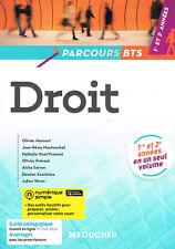 Droit - Parcours BTS 1 ère et 2 ème années - Hannart, etc - Foucher 2015