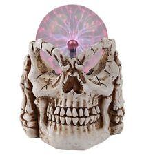 Skull Plasma Sphere Statue 221Pt105