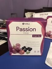 Yoli Passion Energy Drink- Grape Acai 35 packets each box