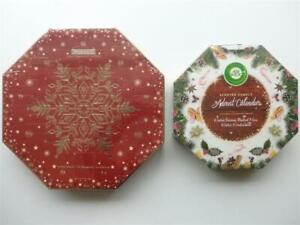 Advent Calendar with Tea Lights & Votive Candles or Scented Candle Advent Calend