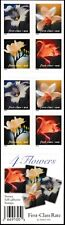 Scott Stamp # 3454-3457e,     First Class     DAY LILIES,    Booklet Pane of 20