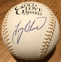 Tony Oliva autographed signed Rawlings Gold Glove logo baseball MLB hologram COA