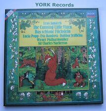 D257D2 - JANACEK - The Cunning Little Vixen MACKERRAS - Ex 2 LP Record Box Set