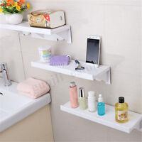 Suction Cup Wall Mounted Bath Rack Shower Holder Kitchen Storage Shelf Organizer