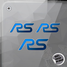 PEGATINA FORD RS FOCUS FIESTA MONDEO KUGA DECAL STICKER AUFKLEBER AUTOCOLLANT