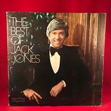 The Best Of Jack Jones  1973 USA Double Vinyl LP  EXCELLENT CONDITION