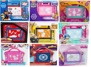 Character Kids Magnetic Scribbler Chase,Skye,Trolls,Spiderman Kids Xmas Gift 3+y