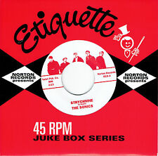 SONICS Strychnine 7 NEW wailers etiquette mummies garage nuggets back from grave
