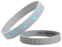 Minecraft Diamond Bracelet Large-Size 20cm Rubber Kids/Adult Band | JINX Notch