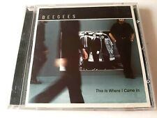 Bee Gees This Is Where I Came In CD 2001 HDCD Brand New