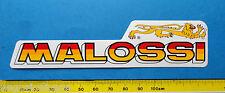 MALOSSI - adesivo-sticker anni '80 -NUOVO-NEW-A133